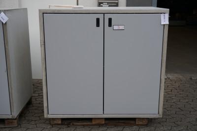Paul Wolff Mülltonnen Box 2 x 240 Liter / Silent Line  / aussen Sichtbeton / Türen hellgrau