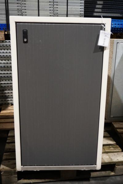 Paul Wolff Mülltonnen Box 1 x 240 Liter / Silent / aussen Sichtbeton / Tür Anthrazit lackiert