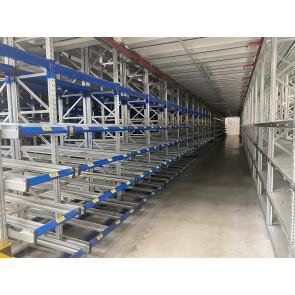 Bito Kolli Durchlaufregal für 600x400mm Boxen / Tiefe 4.700mm