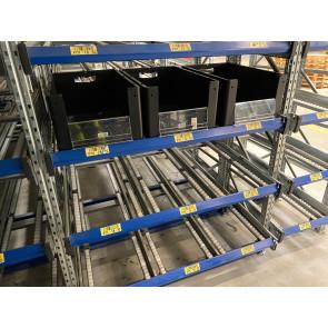 Bito Kolli Durchlaufregal für 600x400mm Boxen / Tiefe 2.000mm