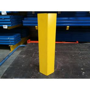 Stilschutz gelb lackiert / Höhe 400mm