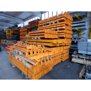 Vogelsang Traverse ( Profil 90x40mm ) Länge 1.820mm / 2.000 kg , orange lackiert